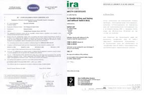 Übersicht Zertifikate